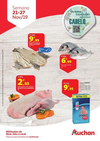 Auchan folheto promocional (válido de 10 ate 17 27-11)
