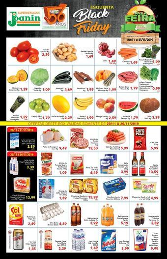 Supermercados Joanin catálogo promocional (válido de 10 até 17 26-11)