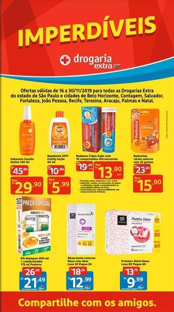 Drogaria Extra catálogo promocional (válido de 10 até 17 30-11)