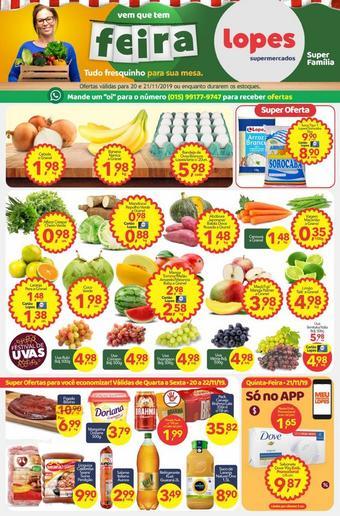 Lopes Supermercados catálogo promocional (válido de 10 até 17 22-11)