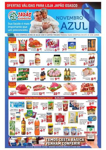 Supermercado Japão catálogo promocional (válido de 10 até 17 24-11)