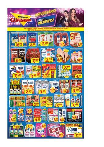 Supermercados Guanabara catálogo promocional (válido de 10 até 17 22-11)