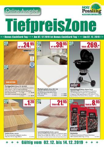 Holz Possling Prospekt (bis einschl. 12-12)