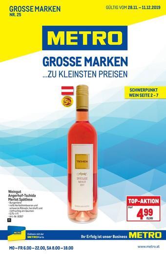 Metro Werbeflugblatt (bis einschl. 11-12)