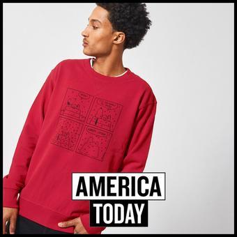 America Today reclame folder (geldig t/m 31-03)