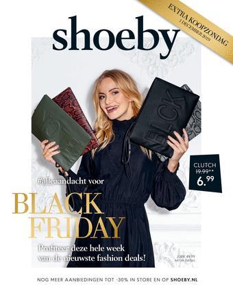Shoeby reclame folder (geldig t/m 19-01)