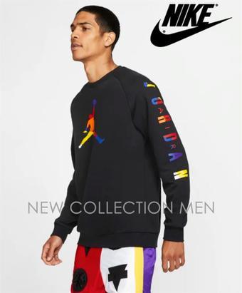Nike reclame folder (geldig t/m 07-01)