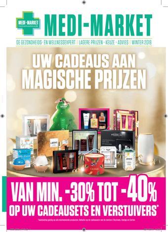 Medi Market reclame folder (geldig t/m 31-01)