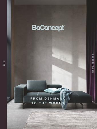 BoConcept reclame folder (geldig t/m 13-01)
