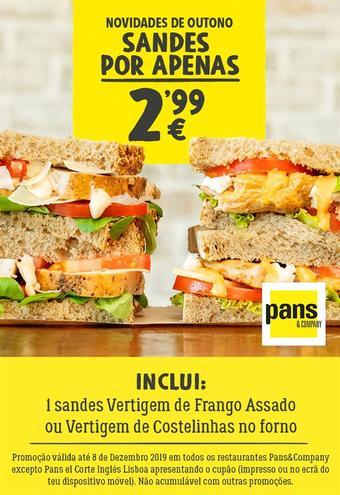 Pans & Company folheto promocional (válido de 10 ate 17 08-12)