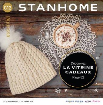 Stanhome catalogue publicitaire (valable jusqu'au 22-12)