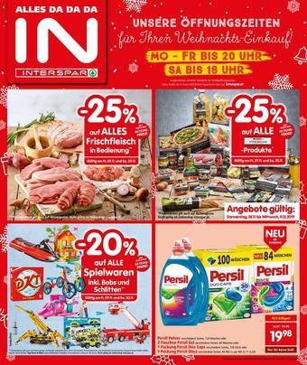 Interspar Werbeflugblatt (bis einschl. 11-12)