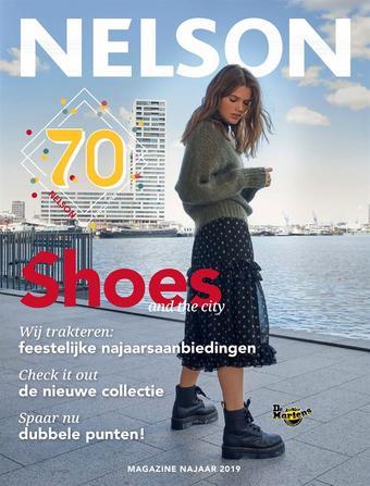 Nelson Schoenen reclame folder (geldig t/m 30-04)