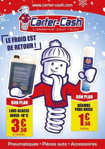Carter-Cash catalogue publicitaire (valable jusqu'au 14-12)