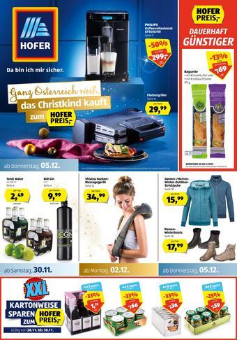 Hofer Werbeflugblatt (bis einschl. 08-12)