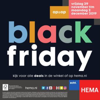 HEMA reclame folder (geldig t/m 30-11)