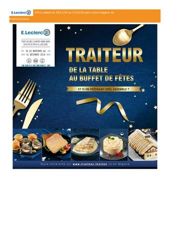 E.Leclerc catalogue publicitaire (valable jusqu'au 31-12)