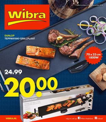 Wibra reclame folder (geldig t/m 14-12)