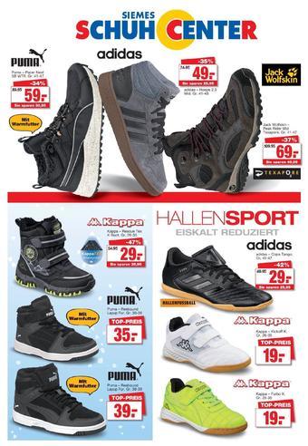 Siemes Schuhcenter Prospekt (bis einschl. 31-12)