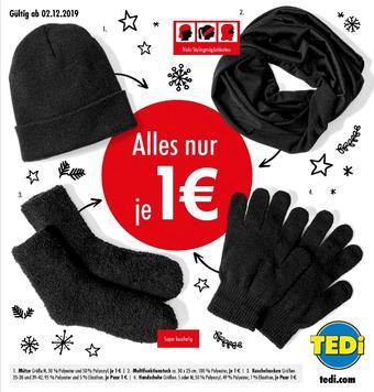 TEDi Werbeflugblatt (bis einschl. 31-12)