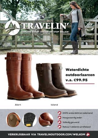 Travelin' reclame folder (geldig t/m 28-12)
