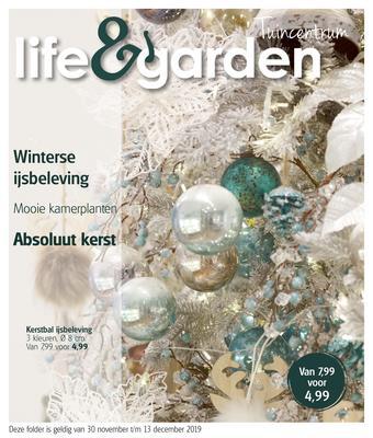 Life & Garden reclame folder (geldig t/m 13-12)