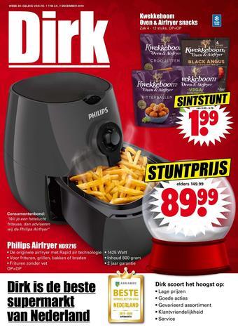 Dirk reclame folder (geldig t/m 07-12)