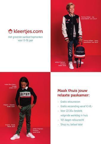 Kleertjes.com reclame folder (geldig t/m 31-01)