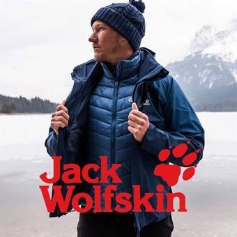 Jack Wolfskin reclame folder (geldig t/m 27-01)