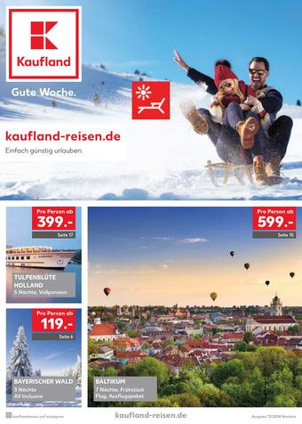 Kaufland Reisen Prospekt (bis einschl. 31-12)
