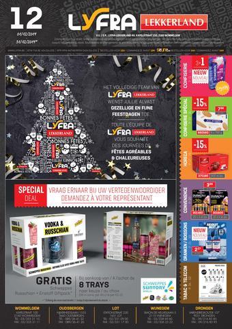 Lyfra reclame folder (geldig t/m 31-12)