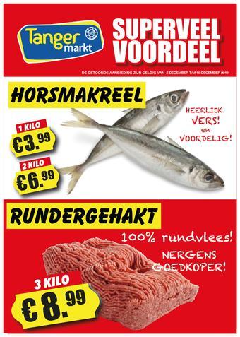 Tanger Markt reclame folder (geldig t/m 15-12)