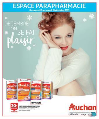 Auchan catalogue publicitaire (valable jusqu'au 21-12)