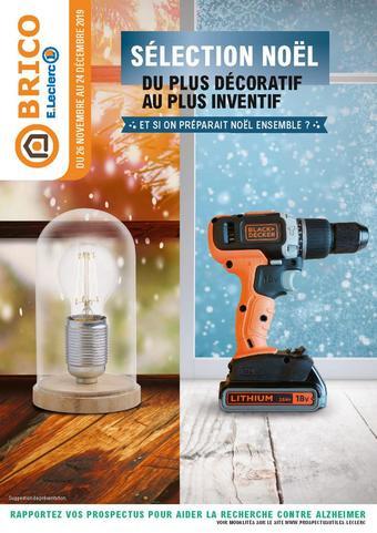 Eleclerc Brico Catalogue Toutes Les Promotions Dans Les