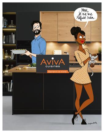 Cuisines Aviva catalogue publicitaire (valable jusqu'au 31-12)