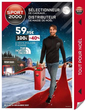 Sport 2000 catalogue publicitaire (valable jusqu'au 24-12)