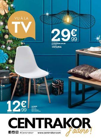 Centrakor catalogue publicitaire (valable jusqu'au 15-12)