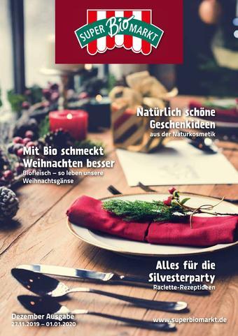 Superbiomarkt Prospekt (bis einschl. 01-01)