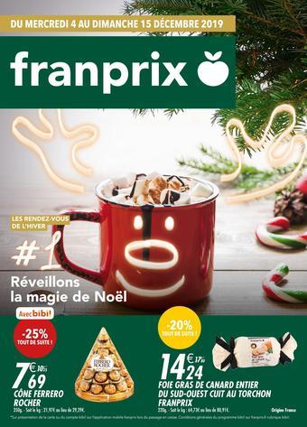 Franprix catalogue publicitaire (valable jusqu'au 15-12)