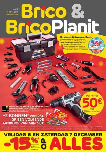 BricoPlanit reclame folder (geldig t/m 30-12)