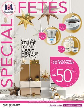 M6 Boutique catalogue publicitaire (valable jusqu'au 31-12)