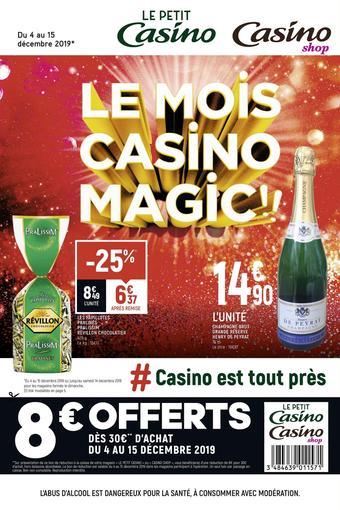 Casino Shop catalogue publicitaire (valable jusqu'au 15-12)