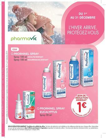 Pharmavie catalogue publicitaire (valable jusqu'au 31-12)