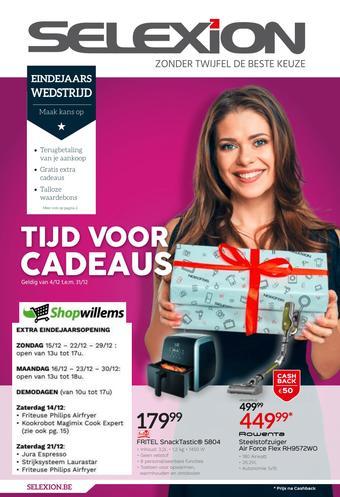 Shopwillems reclame folder (geldig t/m 31-12)