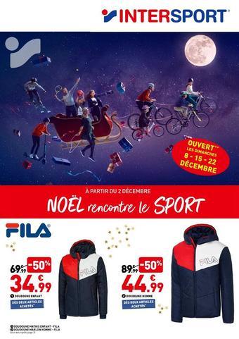 Intersport reclame folder (geldig t/m 24-12)