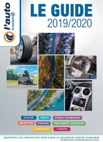 E.Leclerc L'Auto catalogue publicitaire (valable jusqu'au 31-03)