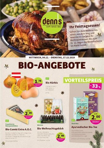 Denn's Biomarkt Werbeflugblatt (bis einschl. 17-12)