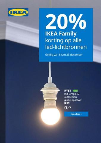 IKEA reclame folder (geldig t/m 25-12)