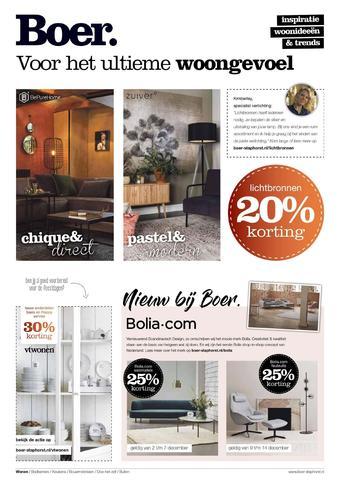 Boer Staphorst reclame folder (geldig t/m 14-12)