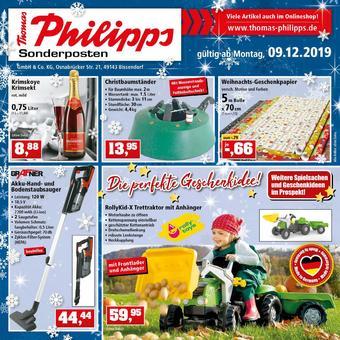 Thomas Philipps Prospekt (bis einschl. 14-12)